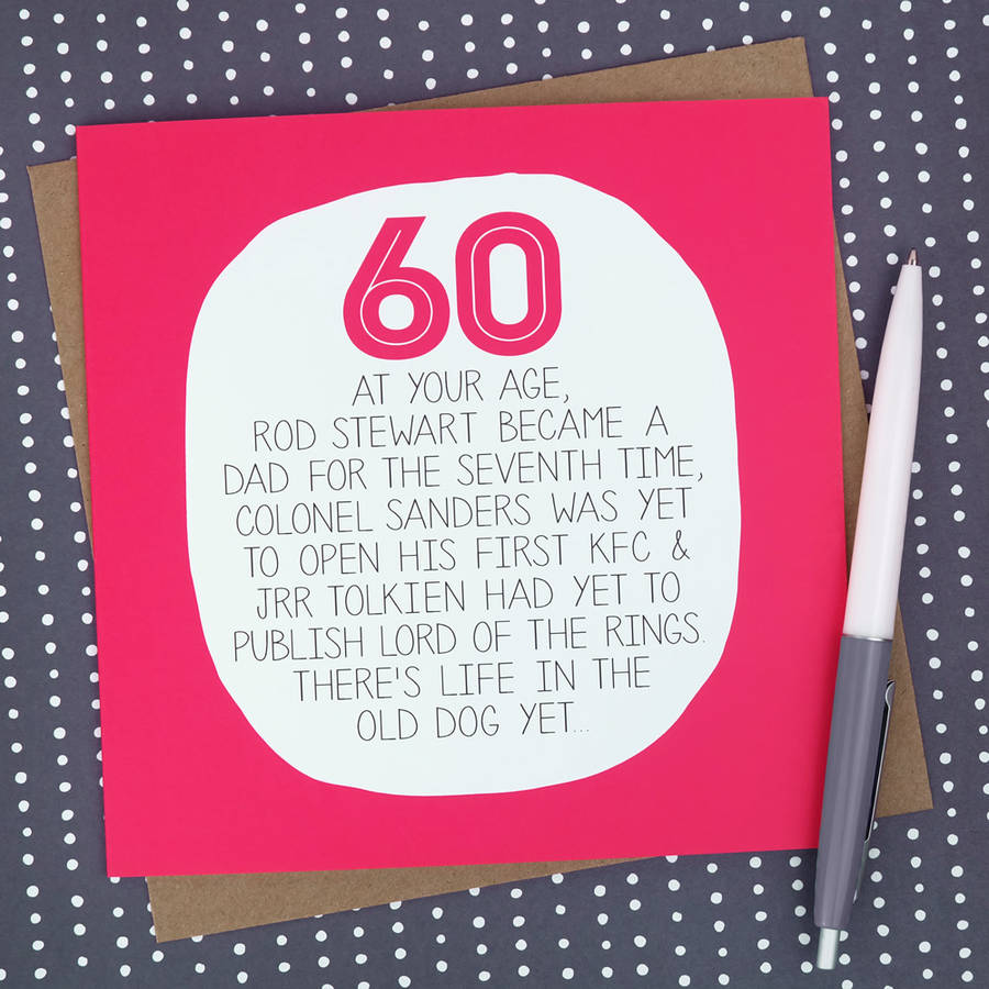60th birthday card images ; original_by-your-age-funny-60th-birthday-card