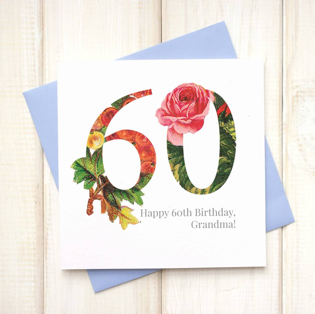 60th birthday card images ; original_personalised-floral-60th-birthday-card