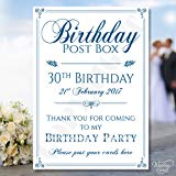 60th birthday card post box ; 81hMS5cE-pL