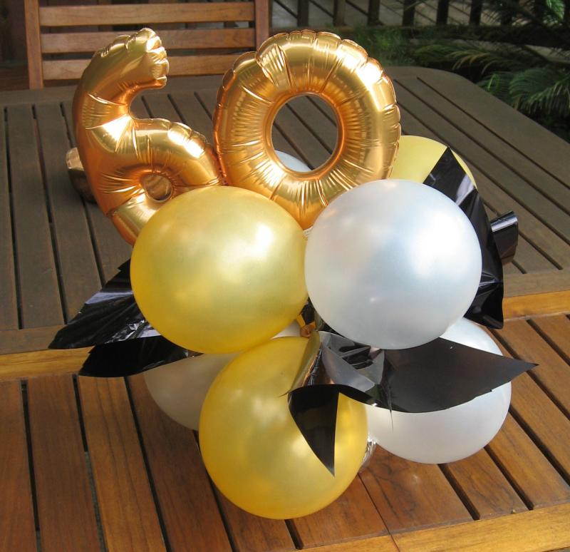60th birthday color motif ; 60th-birthday-table-decorations-ideas-centerpieces-dad-s-pinterest