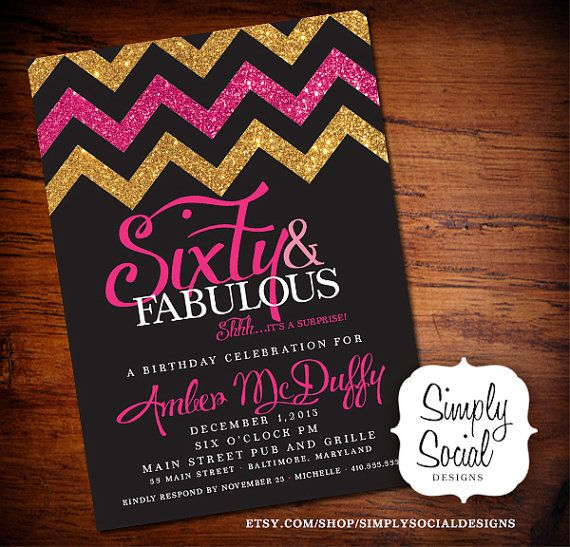 60th birthday color theme ; 60th-birthday-party-invitations-and-get-ideas-how-to-make-bewitching-party-invitation-appearance-1