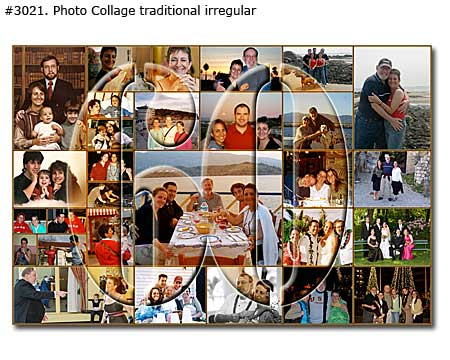 60th birthday photo collage ideas ; 3021_01-Birthday-Collage-Traditional