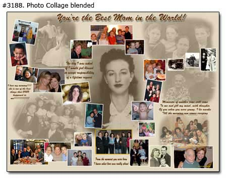 60th birthday photo collage ideas ; 3188_02-Birthday-Collage-Blended
