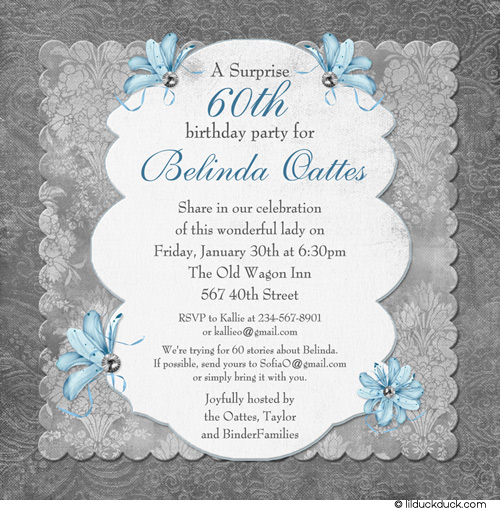 60th birthday wording for card ; 60th-birthday-invitation-wording-in-support-of-invitations-your-Birthday-Invitation-Templates-with-divine-ornaments-12