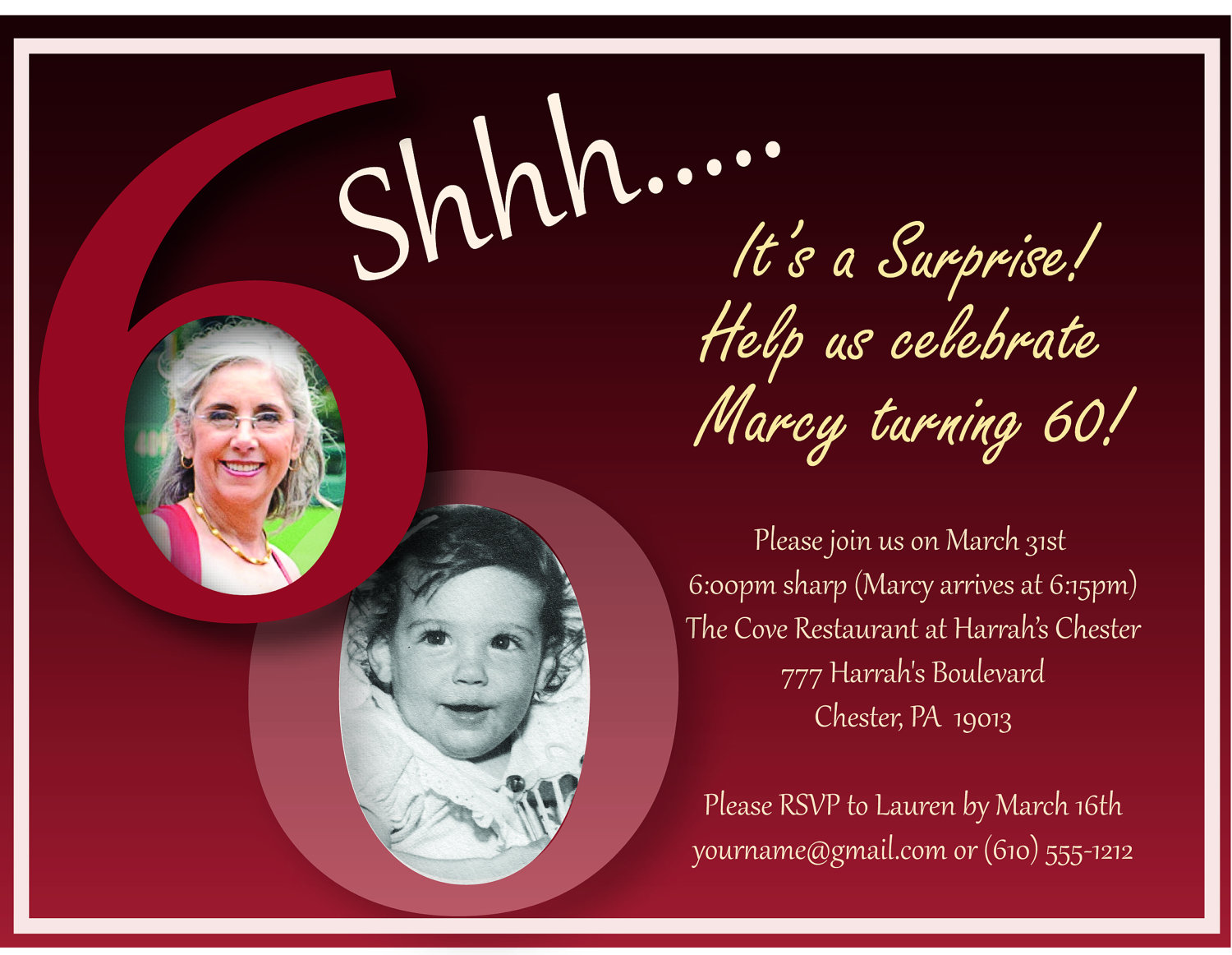 60th birthday wording for card ; Exciting-60Th-Birthday-Invitations-Which-Can-Be-Used-As-Free-Birthday-Invitations