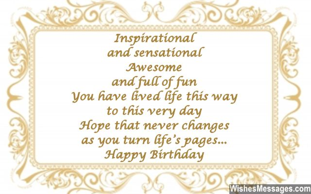 60th birthday wording for card ; Inspirational-birthday-card-message-for-turning-60-years-old