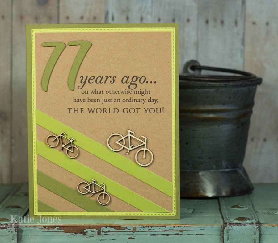 77 birthday card ; 77%252BYears%252BAgo