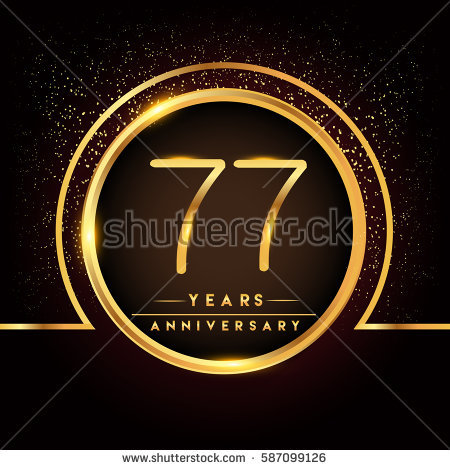 77 birthday card ; stock-vector-seventy-seven-years-birthday-celebration-logotype-th-anniversary-logo-with-confetti-and-golden-587099126