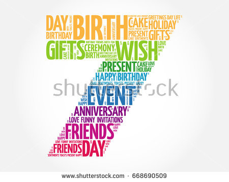 7th birthday background ; stock-photo-happy-th-birthday-word-cloud-collage-concept-668690509