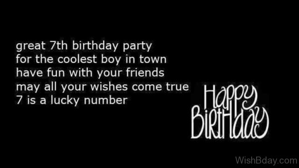 7th birthday message for boy ; Great-Seventh-Birthday-Party-600x338