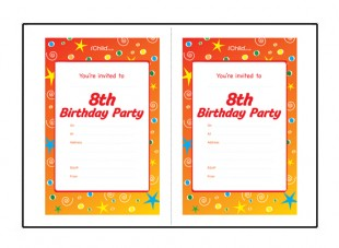 8th birthday invitation templates ; 8thBirthday_invites