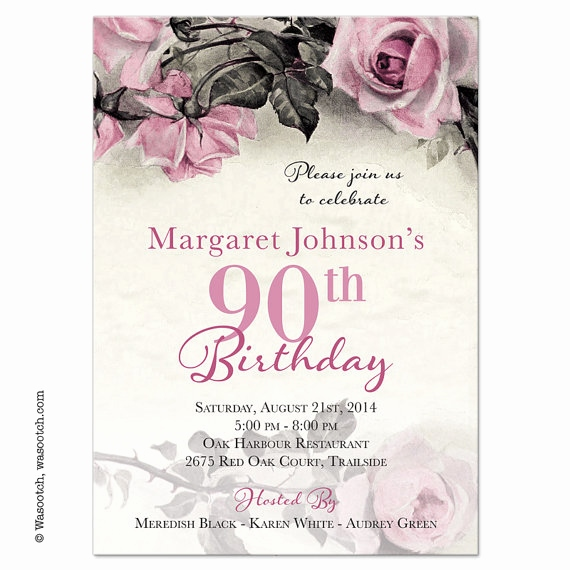 90th birthday invitations templates free ; 80th-birthday-invitations-templates-free-elegant-vintage-pink-grey-and-ivory-rose-illustration-adult-90th-birthday-of-80th-birthday-invitations-templates-free
