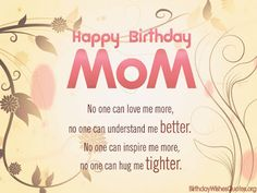 95th birthday card sayings ; 13a7393475c13b41360447dc61d71127--happy-birthday-mom-poem