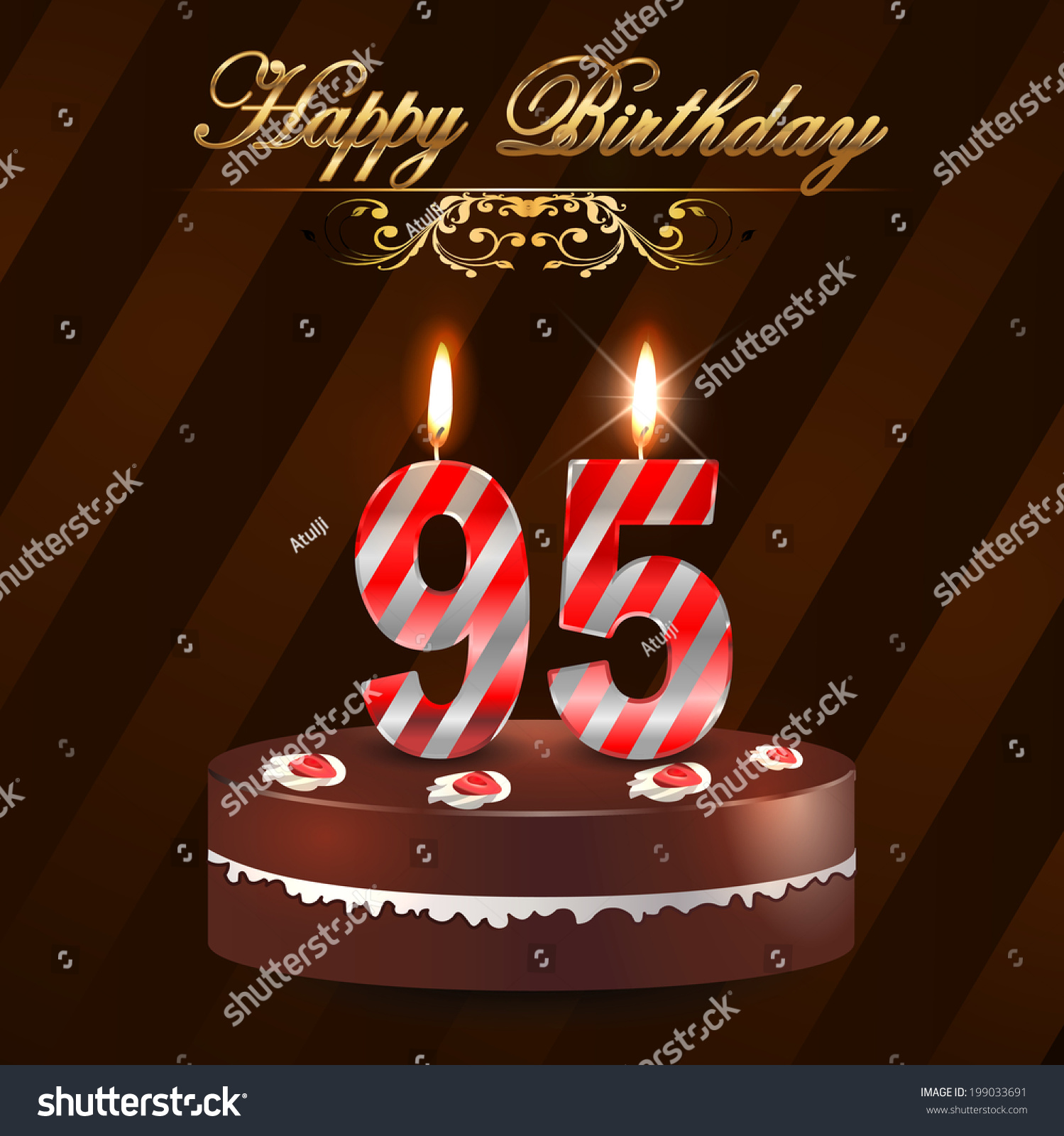 95th birthday card sayings ; stock-vector--year-happy-birthday-card-with-cake-and-candles-th-birthday-vector-eps-199033691