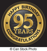 95th birthday clipart ; 95-years-happy-birthday-congratulations-gold-label-vector-illustration-vector-clipart_csp22524109