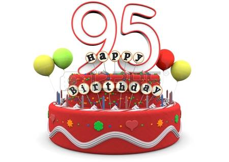 95th birthday clipart ; 95th-birthday-clipart-25558420-a-birthday-cream-pie-with-balloons-big-age-number-95-and-the-lettering-happy-birthday-on-small-stick
