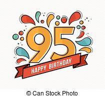 95th birthday clipart ; colorful-happy-birthday-number-95-flat-line-design-happy-birthday-number-95-greeting-card-for-vector-clip-art_csp36834516