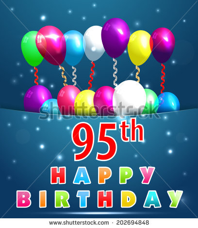 95th birthday clipart ; stock-vector--year-happy-birthday-card-with-balloons-and-ribbons-th-birthday-vector-eps-202694848