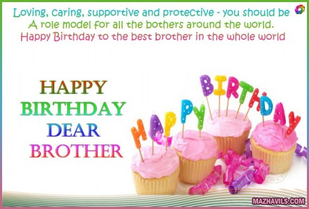 a birthday message for my brother ; birthday-message-for-my-brother
