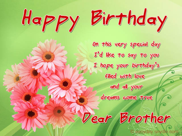 a birthday message for my brother ; birthday-messages-for-brother