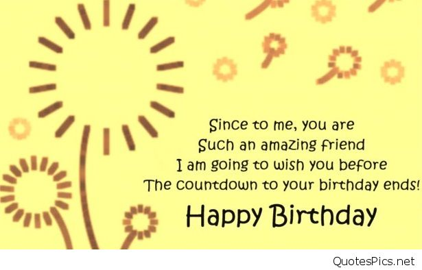 a birthday quote for a special friend ; Cute-advance-birthday-quote-for-a-special-friend