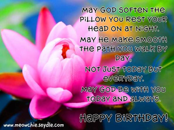 a blessed birthday message ; God-Bless-Birthday-Wishes