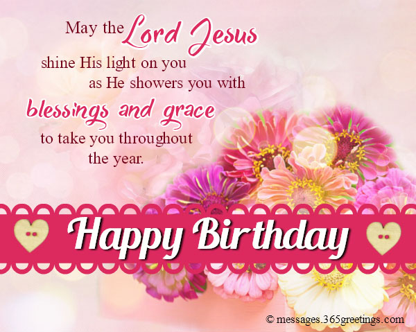 a blessed birthday message ; christian-birthday-wishes-card-1