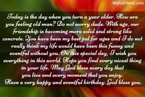 a great birthday wish for a great friend ; 11748-best-friend-birthday-wishes