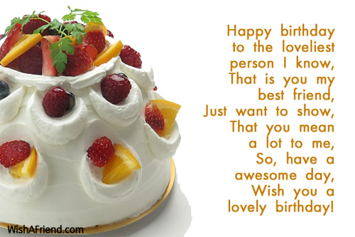 a great birthday wish for a great friend ; 9450-best-friend-birthday-wishes