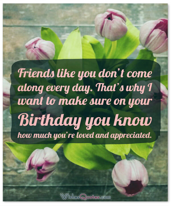 a great birthday wish for a great friend ; Birthday-Message-Best-Friend