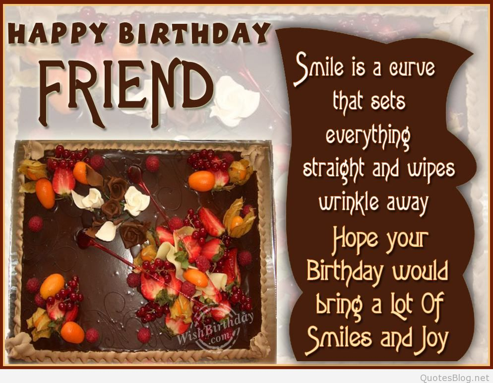a great birthday wish for a great friend ; happy-birthday-wishes-to-friend-3