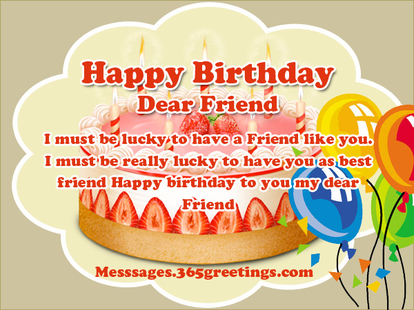a happy birthday message to my best friend ; birthday-wishes-for-friends