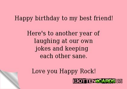 a long happy birthday message to my best friend ; aa914c542781d4265534f8d78512166e