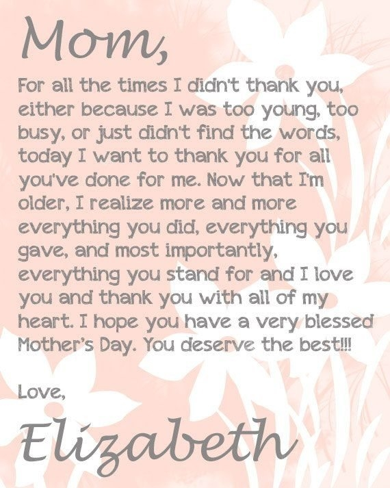 a message for a mother on her birthday ; message-for-mother-on-her-birthday-6