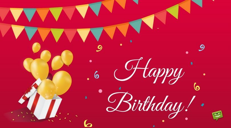 a nice happy birthday message ; Birthday-message-for-cute-friend-on-card-with-balloons-and-gifts