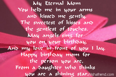 a poem for a mother on her birthday ; 2025-mom-birthday-poems