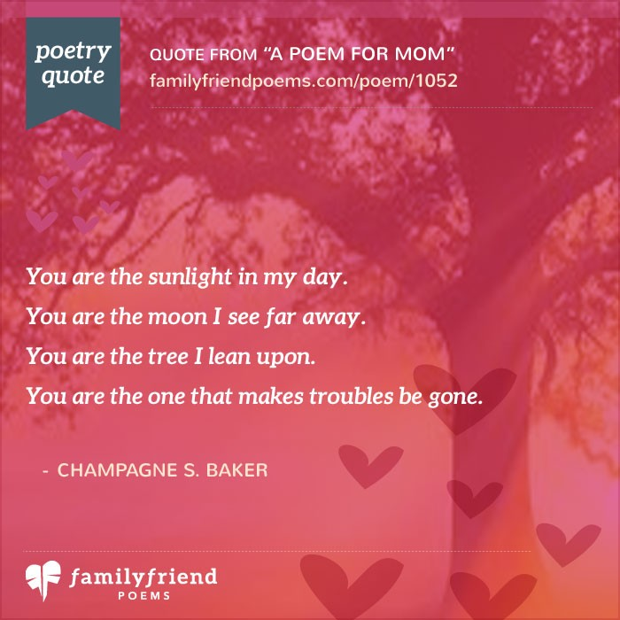 a poem for a mother on her birthday ; a-quote-for-mom