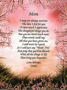 a poem for a mother on her birthday ; s-l300