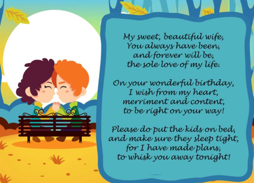 a poem for my wife on her birthday ; birthday-poem-for-her-816x587