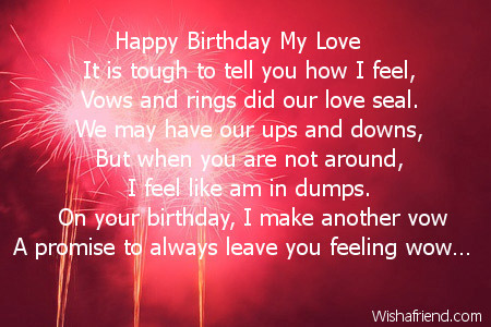 a poem for my wife on her birthday ; love-poem-to-my-wife-on-her-birthday-2478-wife-birthday-poems