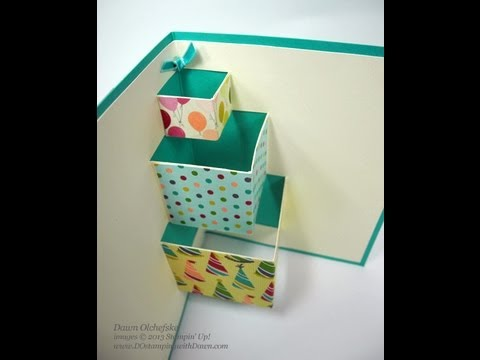 a pop up birthday card ; how-to-make-a-pop-up-birthday-greeting-card-pop-up-birthday-gifts-card-dawn-o-youtube