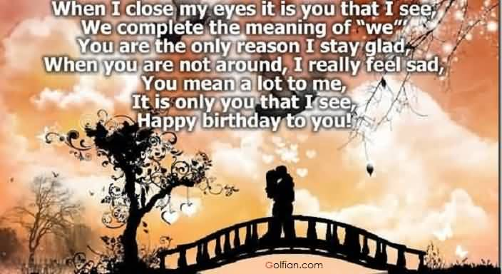 a romantic birthday message for my girlfriend ; Romantic-Birthday-Wishes-For-Girlfriend-E-Card