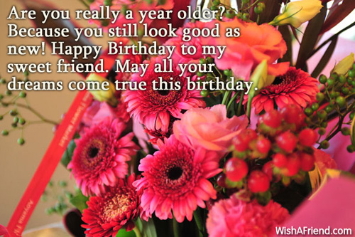 a sweet birthday message for a friend ; 1878-birthday-greetings-for-friends