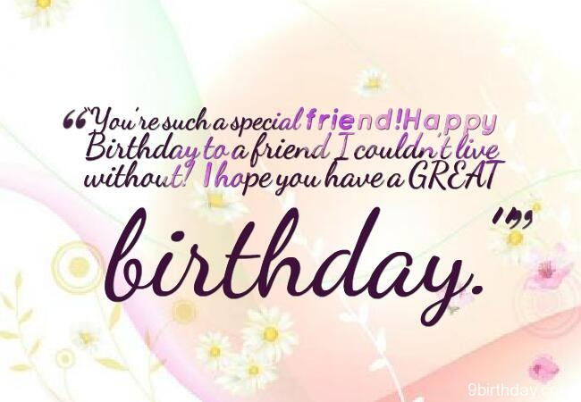 a sweet birthday message for a friend ; 21-birthday-wishes-for-friends