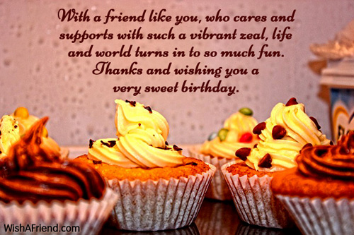 a sweet birthday message for a friend ; 248-friends-birthday-wishes