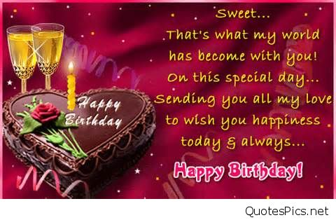 a sweet birthday message for a friend ; birthday-quotes-for-wife