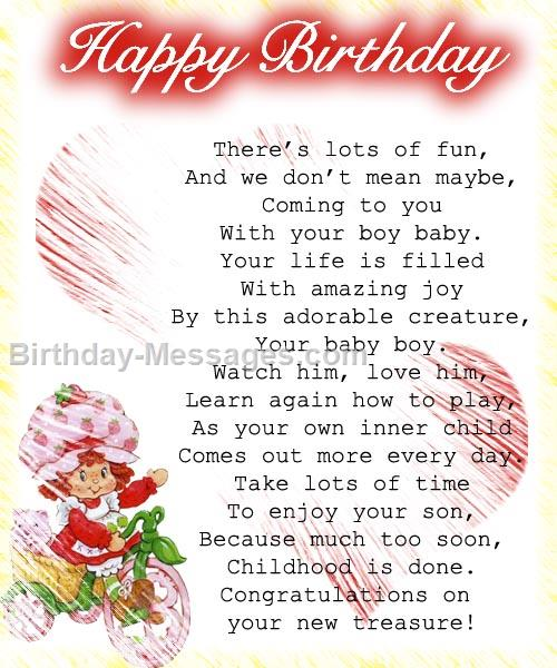 a sweet birthday message for a friend ; sweet_baby_birthday453