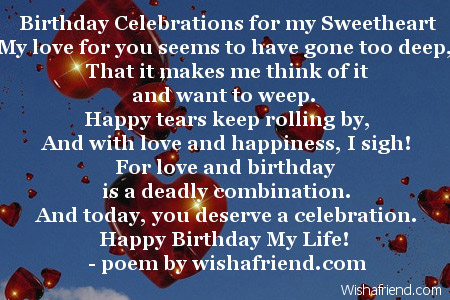 a sweet birthday poem ; 2042-love-birthday-poems