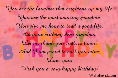 a sweet birthday poem ; 8427-grandmother-birthday-poems