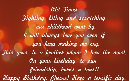 a sweet birthday poem ; Birthday-Poems-For-Brother1256